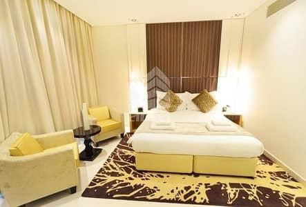استوديو  للايجار في الخليج التجاري، دبي - Full Canal View | Furnished Higher Floor| Ready to Move In