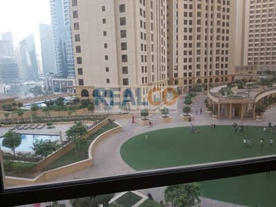 2 Bedroom Apartment for Sale in Jumeirah Beach Residence (JBR), Dubai - Pool view 2BR Excellent Investment Vacant