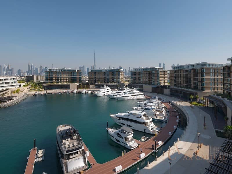 2 luxury living | Marina and Sky Line View