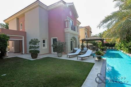 فیلا 5 غرف نوم للايجار في مدينة دبي الرياضية، دبي - 5 Bedrooms | C1 | Incredible Back Garden