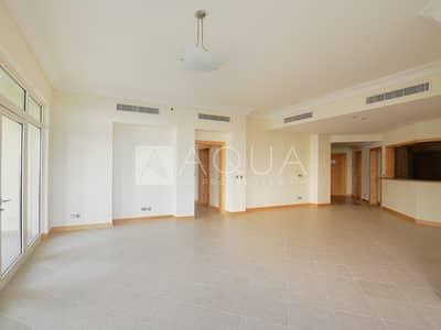 فلیٹ 3 غرف نوم للبيع في نخلة جميرا، دبي - High Floor | Type C | Beach Side | Vacant