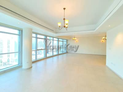 4 Bedroom Flat for Rent in Corniche Road, Abu Dhabi - Semi-Furnished Elegant