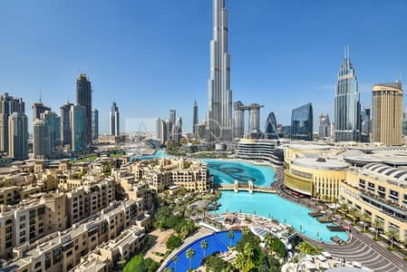 2 Bedroom Apartment for Sale in Downtown Dubai, Dubai - Luxury Apartment with Full Fountain View