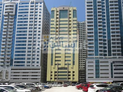 1 Bedroom Apartment for Rent in Al Khan, Sharjah - EXCLUSIVE OFFER 1 MONTH AND 1 PARKING FREE FOR 1 BEDROOM  APARTMENT IN SHARJAH 555 BUILDING