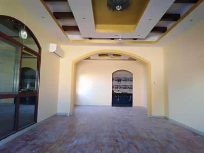 6 Bedroom Villa for Sale in Al Rawda, Ajman - Villas for sale in Ajman, Al Rawda area, two floors, wonderful modern design with bank financing%%