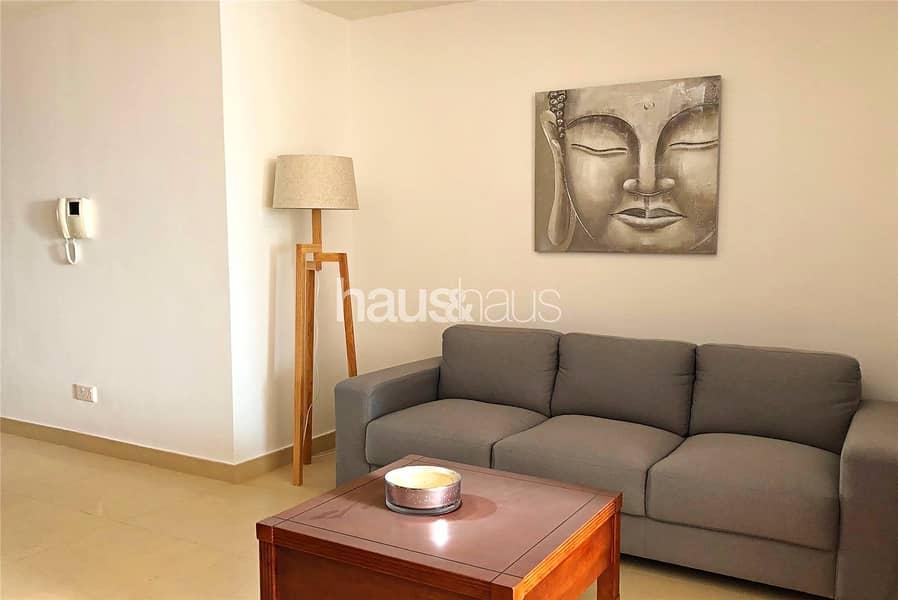 10 Furnished Studio | Cheque Option | Balcony