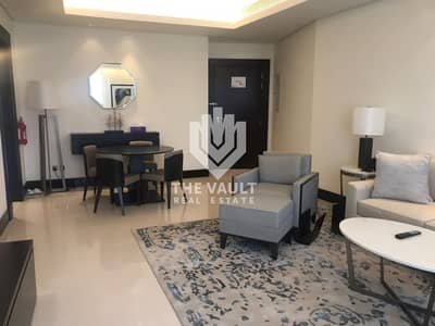 1 Bedroom Hotel Apartment for Rent in Downtown Dubai, Dubai - Must View Hotel Apartment | High Floor | All Bills Inclusive