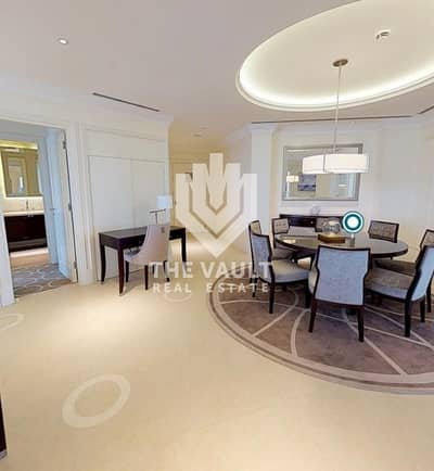 3 Bedroom Hotel Apartment for Sale in Downtown Dubai, Dubai - 3 Bedroom + Maids | Hotel Apartment | Fountain View