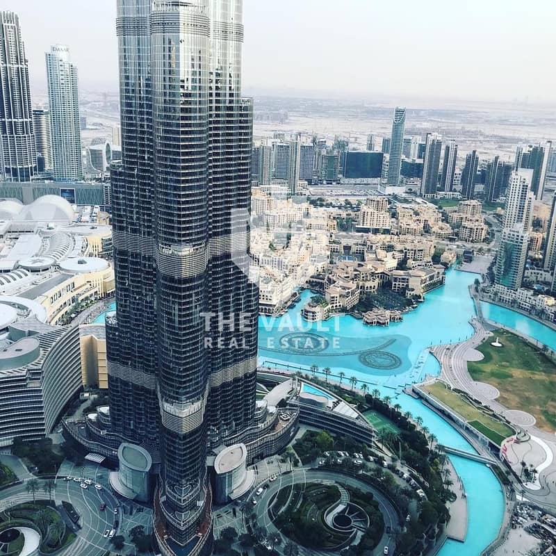 2 4 BR Penthouse | High Floor | Full Burj and Fountain View