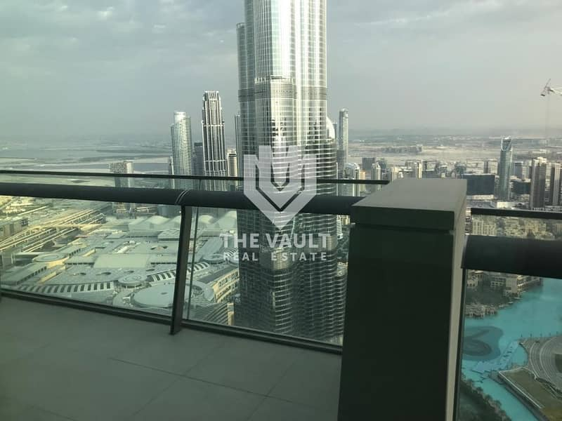 2 4 BR Penthouse   High Floor   Full Burj and Fountain View