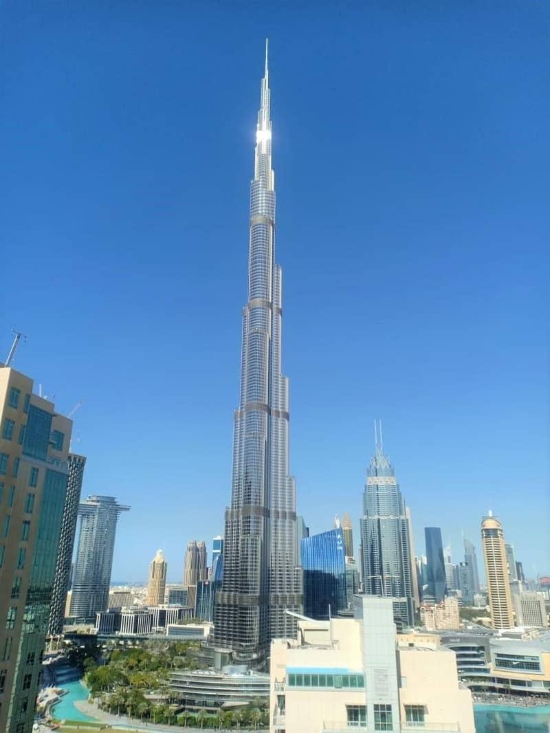 22 Full Burj Khalifa View- Stunning 2 BR In The Residences