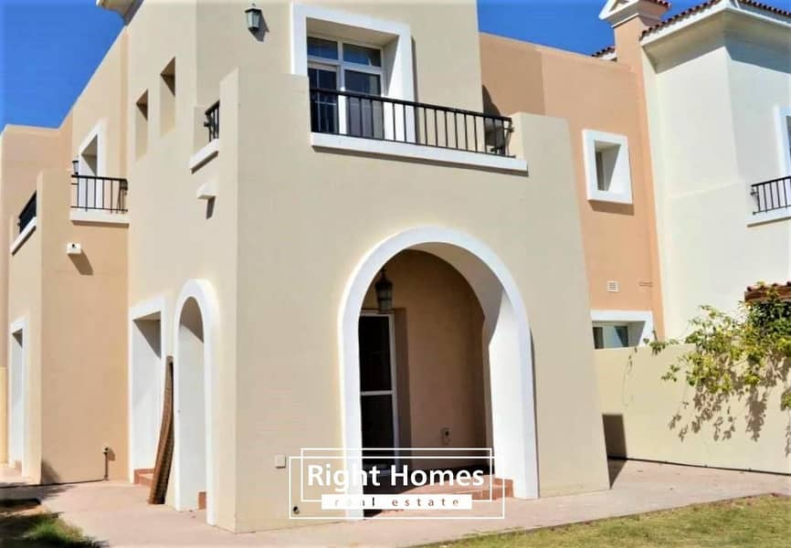 Middle Unit 3BR+S Townhouse   Type 3M  Arabian Ranches