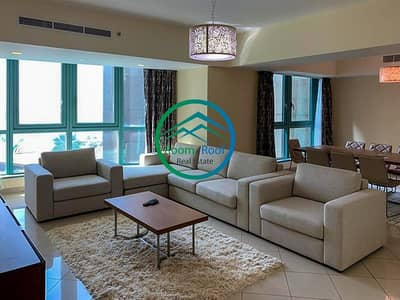 3 Bedroom Apartment for Rent in Corniche Area, Abu Dhabi - Iconic Residence Located in the Heart of Corniche Abu Dhabi