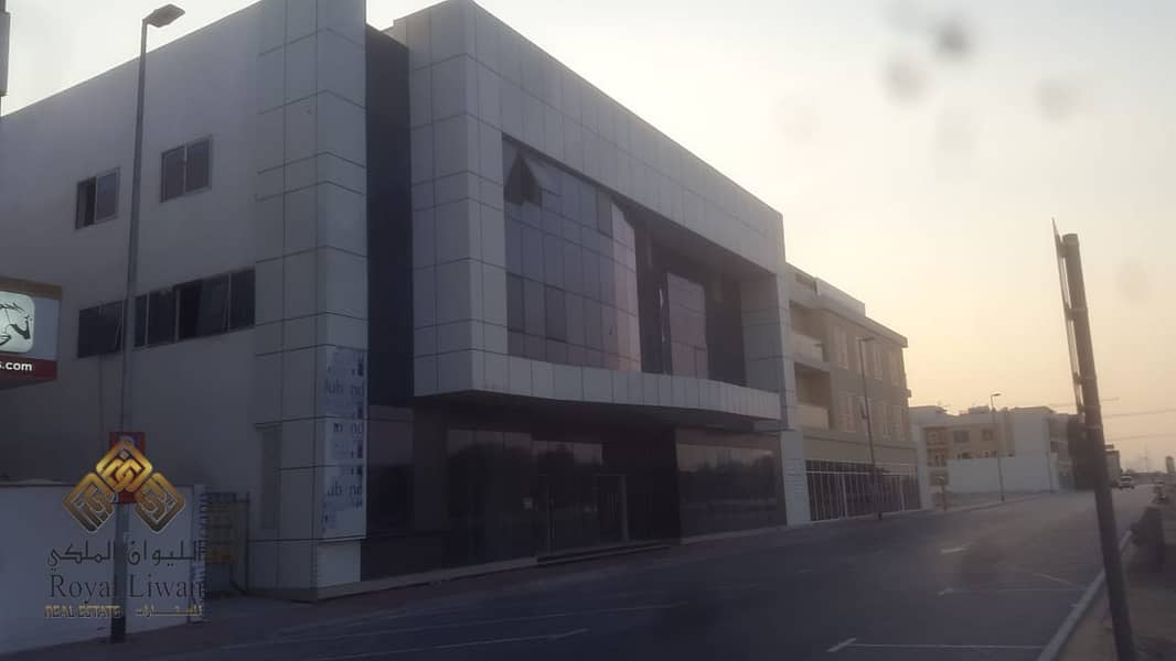 G+2+B mixed used building wit show rooms