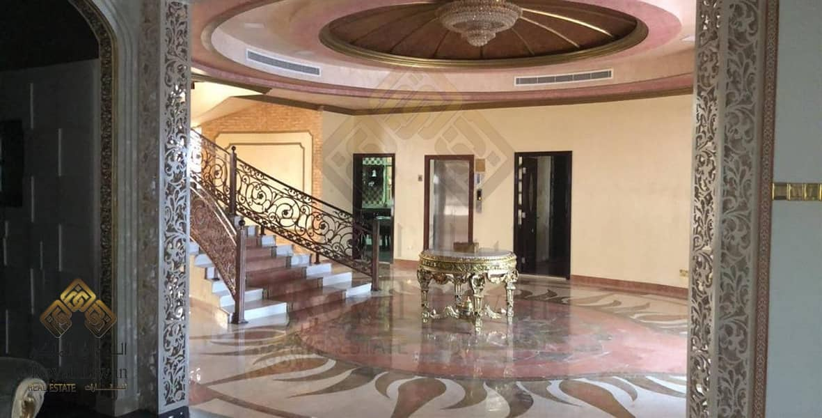 2 6 BEDROOM SUPER DELUXE VILLA FOR SALE IN AL BARSHA 2