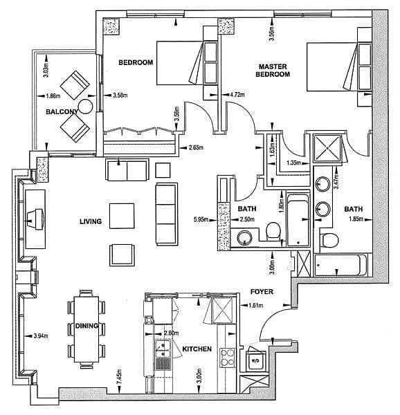 10 The Residences 6 | Vacant | Two Bedroom