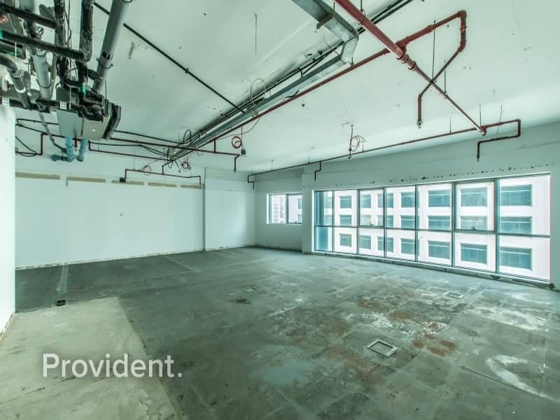 Semi Fitted Office Space - Mid Floor - Near Metro