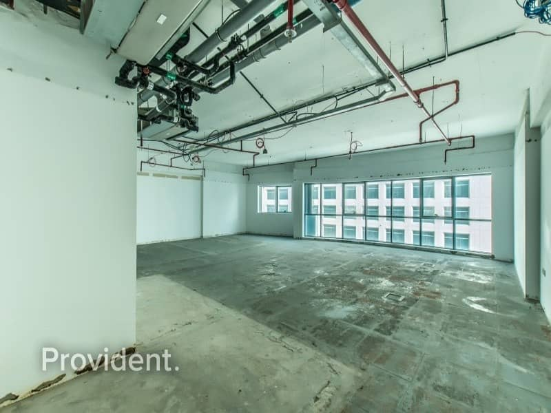 2 Semi Fitted Office Space - Mid Floor - Near Metro