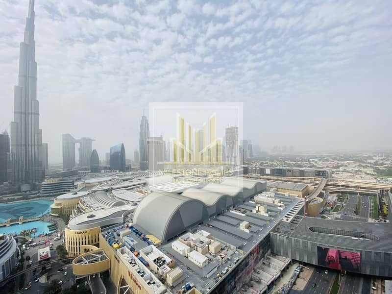 Burj Khalifa View|Luxurious|Spacious|3br + Mr