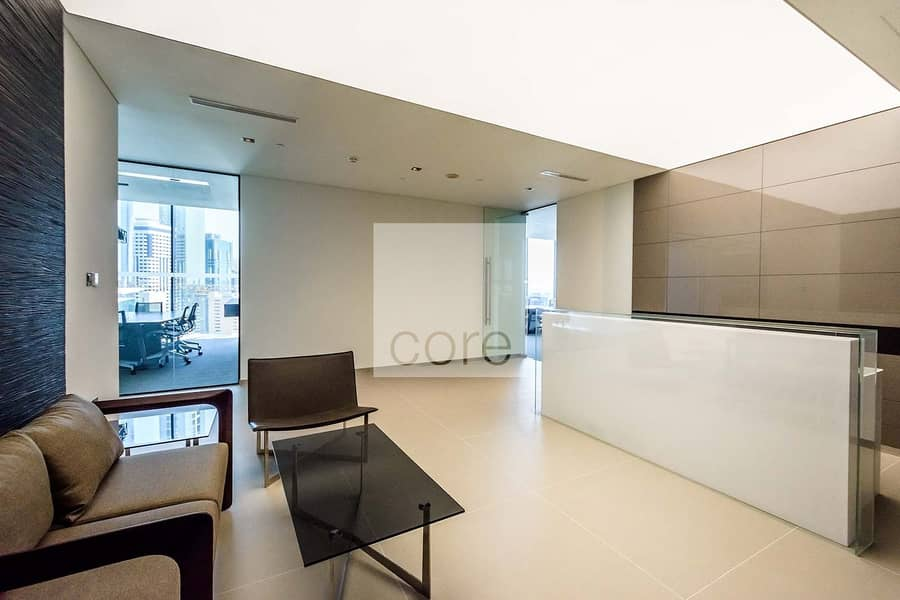 On Mid Floor | Furnished Partitioned Unit