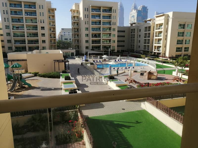 AMAZING POOL VIEW 2BHK WITH BIG BALCONY
