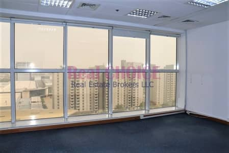 Office for Rent in Sheikh Zayed Road, Dubai - Huge Fitted Office Free Chiller & DEWA in SZR