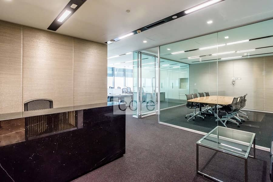 Fully Fitted Office | DEWA Chiller Inclusive