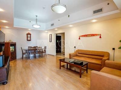 شقة 2 غرفة نوم للايجار في أبراج بحيرات الجميرا، دبي - Fully Furnished | 2 Beds | High Floor Unit