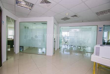 مکتب  للايجار في برشا هايتس (تيكوم)، دبي - Furnished Office in Tecom |Modern | Accessible