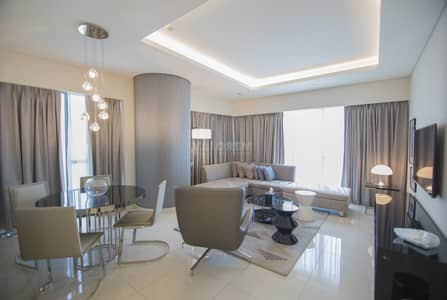 2 Bedroom Flat for Rent in Business Bay, Dubai - BURJ Khalifa view|Luxurious Finishing|Negotiable