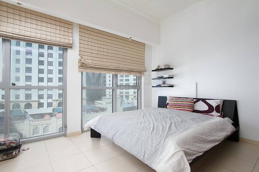 Furnished 1BR Bright and Spacious with Marina View