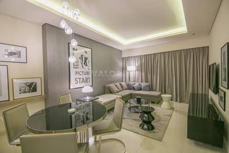 1 Bedroom Flat for Rent in Business Bay, Dubai - TOP Floor|Bright|Burj Khalifa View|Brand New