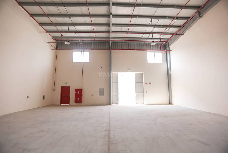 Brand New 300Kw Connected Power Warehouse for rent in UAQ