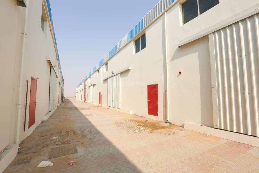 2 120Kw Electric Power Brand New Warehouse for rent in UAQ
