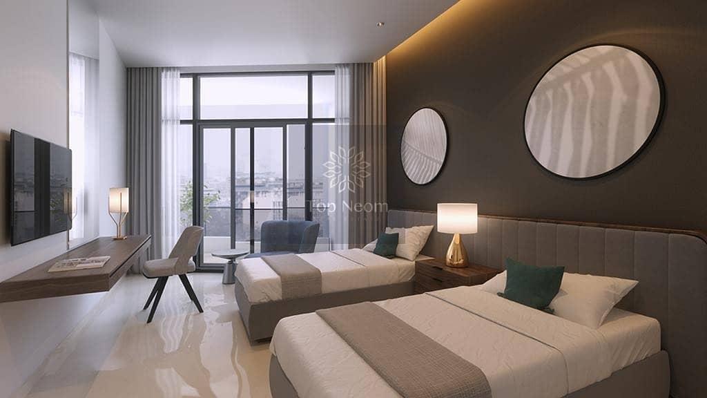 Luxurious 2 Bedrooms Apartment | DAMAC Maison Priv