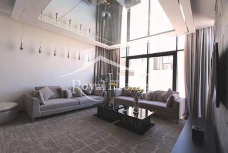 فیلا 5 غرف نوم للايجار في داماك هيلز (أكويا من داماك)، دبي - BRAND NEW / LUXURY FURNISHED / V TYPE / AMAZING SINGLE ROW