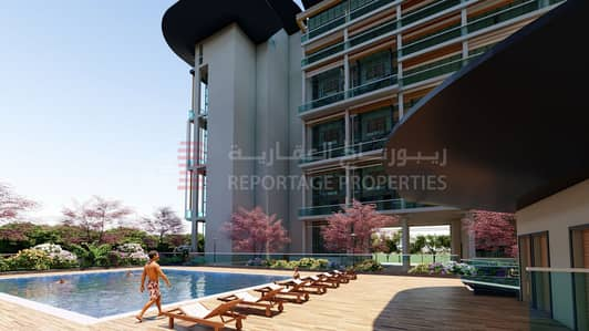 2 Bedroom Apartment for Sale in Masdar City, Abu Dhabi - Well lit modern design duplex apartment ! Direct from the developer