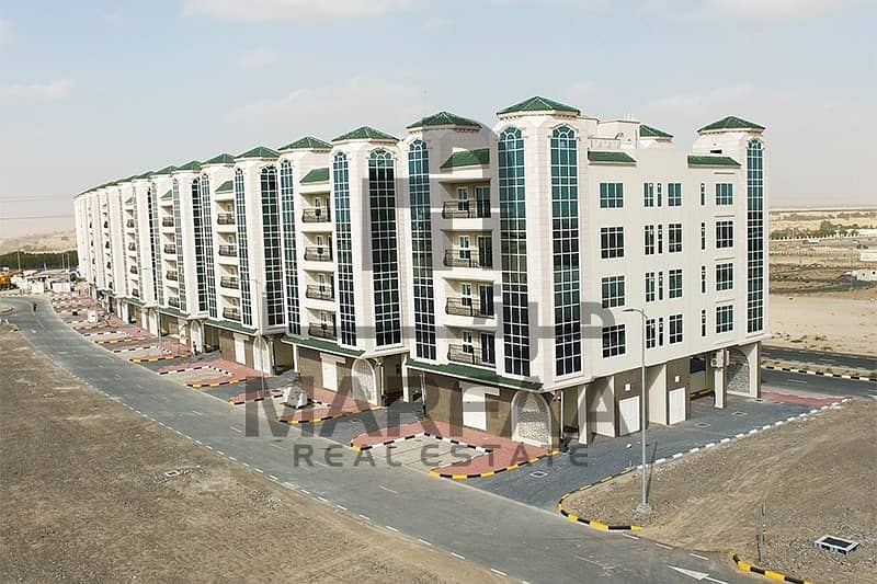 12 Brand New 1BHK for Rent - No Commission-Tilal City
