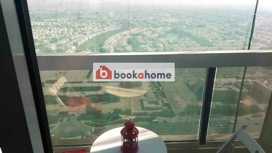 22 Amazing 1 BR in Dubai Gate 1- JLT with balcony
