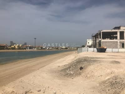Plot for Sale in Palm Jumeirah, Dubai - Exclusive! Mid number on N frond facing Atlantis!