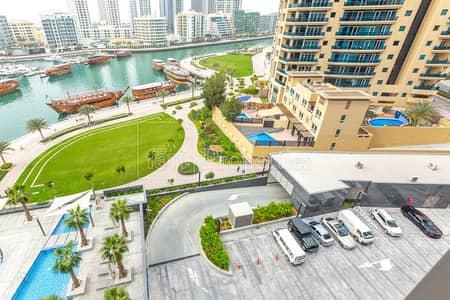 1 Bedroom Apartment for Sale in Dubai Marina, Dubai - Marina and Partial Sea View Sparkle Towers 1