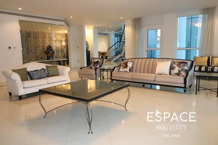 4 Bedroom Penthouse for Rent in Dubai Marina, Dubai - Chiller Free | Keys With Me | Great View