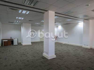 Spacious fitted  office space w/ FREE DEWA for rent near Clock Tower Deira