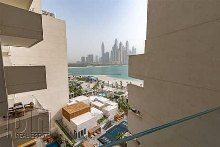 فلیٹ 3 غرف نوم للايجار في نخلة جميرا، دبي - Available   Bills Included   Jacuzzi   High Floor