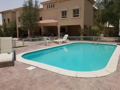 3 Bedroom Villa for Rent in Shakhbout City (Khalifa City B), Abu Dhabi - Swimming pool