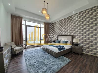 3 Bedroom Penthouse for Rent in Downtown Dubai, Dubai - Elegant 3BR+maids|Penthouse|Burj Khalifa views