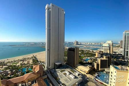 2 Bedroom Apartment for Rent in Jumeirah Beach Residence (JBR), Dubai - Sea Views | Vacant May | Furnished | 2 Bed