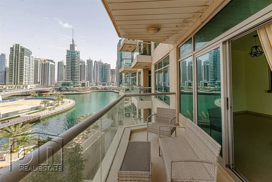 Spacious 1 Bed - Marina View - Chiller Free