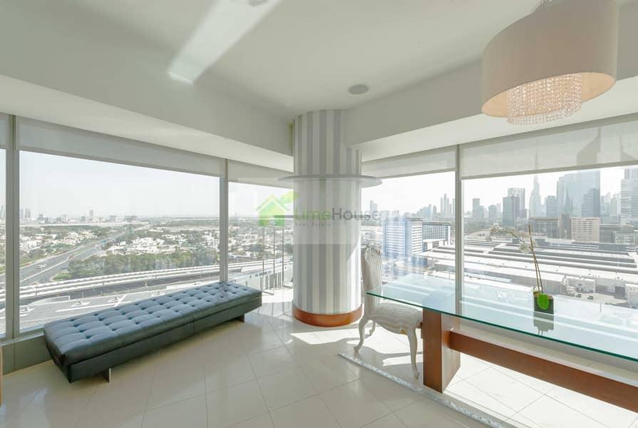 2 Ceiling to Floor Windows | DIFC Sky Line
