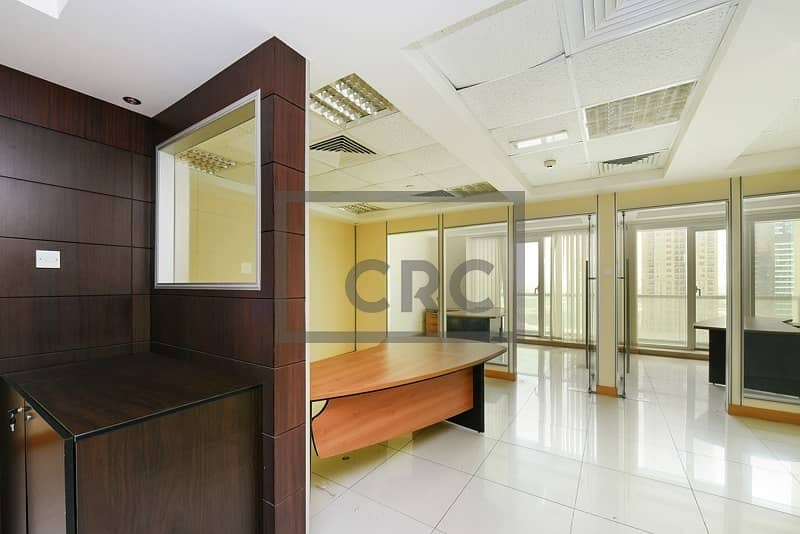 2 Fitted office for rent in Palladium Tower